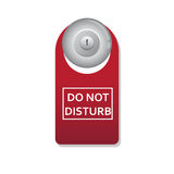 Non disturbi Fotografie Stock