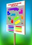 Campus map Stock Images