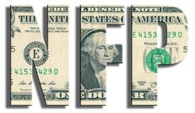 Non-Farm Payrolls - macroeconomic indicator. Royalty Free Stock Image