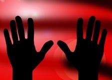 Non fermi il pericolo di aiuto dell'entrata fotografia stock libera da diritti