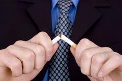 Non fumatori! Fotografia Stock Libera da Diritti