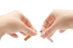 NON FUMATORI! Fotografie Stock Libere da Diritti