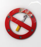 Non fumatori Fotografia Stock