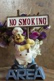 Non fumatori canta Immagini Stock Libere da Diritti