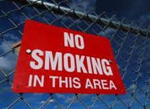 Non fumatori - isolato Immagini Stock
