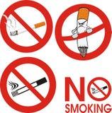 Non fumatori - segno Illustrazione di Stock