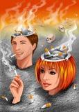 Non-fumeurs illustration libre de droits