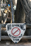 Non-fumeurs Images stock
