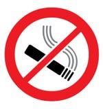 Non-fumeurs Images libres de droits