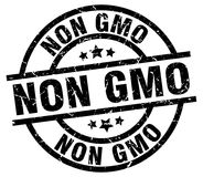 Non gmo stamp Royalty Free Stock Images