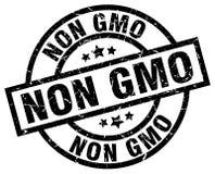 Non gmo stamp. Non gmo grunge stamp on white background royalty free illustration