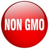 Non gmo button. Non gmo round button isolated on white background. non gmo stock illustration