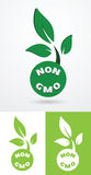 Non gmo sign Stock Photo