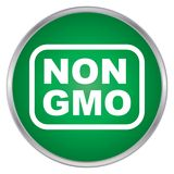 Non GMO sign Stock Photos