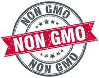 Non gmo stamp. Non gmo round grunge vintage ribbon stamp. non gmo royalty free illustration