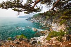 Non il paesaggio usuale del mare Fotografia Stock