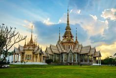 Non Kum Temple in Nakhon Ratcashia Province or Korat, Thailand. Non Kum temple or also known as Wat Sorapong, a famous Buddhist temple in Nakhon Ratchasima Stock Image