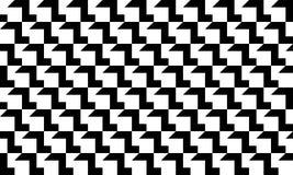 Non linee nere bianche grige cubiche variazione senza cuciture 5 del modello royalty illustrazione gratis