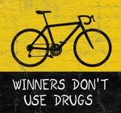 Non metta in mostra droga illustrazione di stock