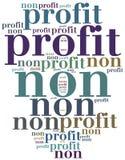 Non organizzazione o affare di profitto Immagini Stock