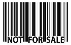 Non per la vendita Fotografia Stock Libera da Diritti