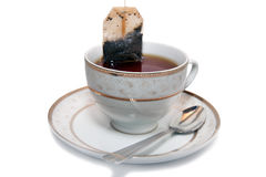 Non-permanent pack of tea Royalty Free Stock Photos
