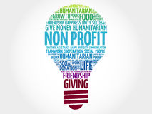 Free Non Profit Bulb Word Cloud Stock Images - 88435594