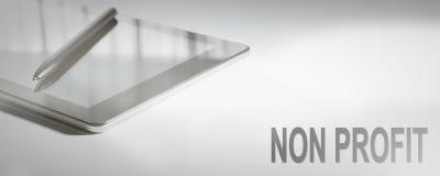 NON PROFIT Business Concept Digital Technology. stock images