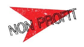 Non Profit rubber stamp Stock Image