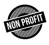 Non Profit rubber stamp Royalty Free Stock Photography