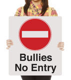 Bullies No Entry Stock Photography