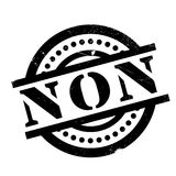 Non rubber stamp Stock Photography