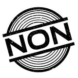 Non rubber stamp Stock Images