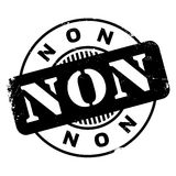 Non rubber stamp Stock Image