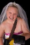 Non scompigli con la sposa Fotografia Stock Libera da Diritti