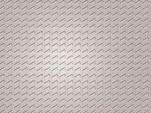 Non-skid metal painted diamond plate Stock Photography