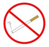 Non-smoking vector illustratie