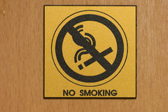 Non smoking room royalty free stock images