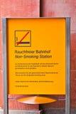 Non smoking sign Stock Photos