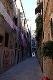 Non Sono Charlie graffiti w Wenecja Fotografia Stock