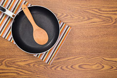 Non stick frying pans Royalty Free Stock Image