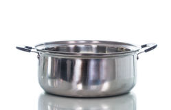 Non stick sauce pan isolate Stock Photography