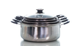 Non stick sauce pan isolate Royalty Free Stock Image