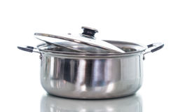 Non stick sauce pan isolate Royalty Free Stock Photo