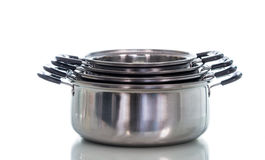 Non stick sauce pan isolate Stock Photos