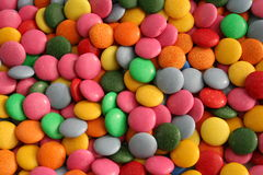 Non stop candies. Multicolored sweets together for sale Royalty Free Stock Photos