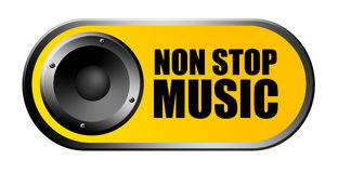 Non stop music Stock Photos