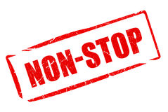 Non stop rubber stamp Royalty Free Stock Photography