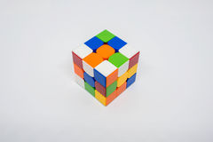 Non-succès de cube en Rubik Photographie stock libre de droits