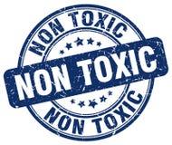 Non toxic blue stamp Royalty Free Stock Photos